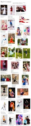 My 2015 cosplays by simakai