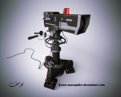 Sony Broadcast Camera Model by maxspider
