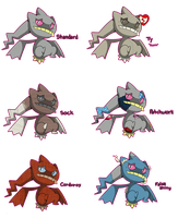 PKMN: Banette Variations by Phantomania