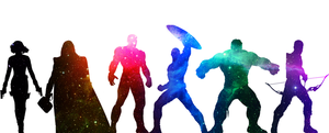 The Cosmic Avengers by CorryRox