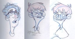 Sketchy Faces by CaptainChants
