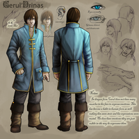 Cerul character sheet: Human by Serpentwined