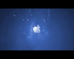iPod + iTunes Ad Blue by Oliuss