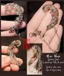 Silver Ear Wrap (Daily Deviation) by somk