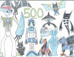 500th Deviation by ARTgazer12