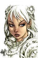 Manga skin tones warm up by SpicerColor