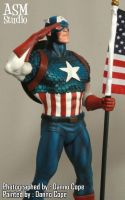 Captain America - Painted 02 by ASM-studio
