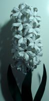 Origami Hyacinths by HolographicImaging