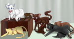 Catting Around by Lostinthedreams
