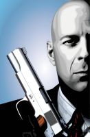 HITMAN - Mr. Bruce Willis by cybaBABE