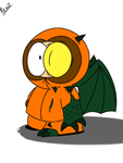Cthulhu Kenny (character design) by Shroomtoons