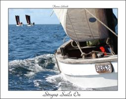 Strynoe Sails On framed by largethomas