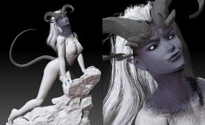 incomplete Desire Demon by mikegrygier