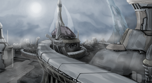 Aegis Federation City by Nymbryxion101