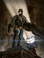 Steampunk Batman by Vektor1970