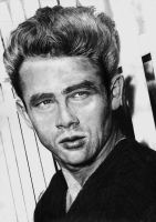 James Dean by Yankeestyle94