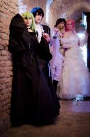 Code Geass Cosplay - Light and Darkness by AngyValentine