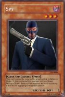 Spy Card by Darrtaa