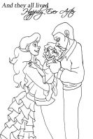 Happily Ever After Lineart by MandiPope