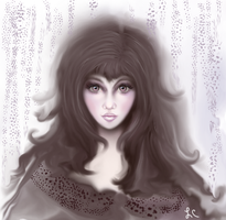 Lady Orchid by thepurpleorchid1