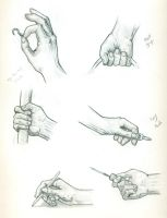 Hand Anatomy Practice by Eyad-mangafreak