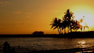 SUNSET IN HAWAII by FRANDIGAR