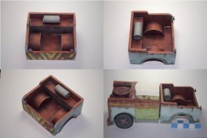 Tow Mater papercraft - Betatest by airasumi