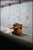 Sad Giraffe by Spoolaroo