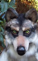 wolf mask updated by LilleahWest