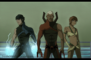 The Flashpoint Paradox - Atlanteans by WyldeElyn