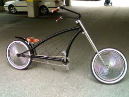 Custom bicycle by zemilthedevil