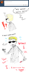 Hey Wesker, wanna dance? by Arikado12