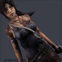 (W.I.P) A Survivor is Born - Lara Croft by andersoncathy