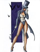 Zatanna - Copic Hotness by ChrisShields