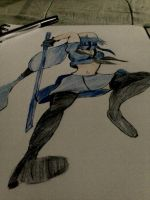 THE LEGEND OF THE BLUE SPIRIT DARK COLOR by tifa005111