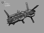 Somtaaw Multi-Gun corvette by Norsehound