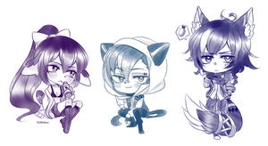 Vani cheebs by poffinbox