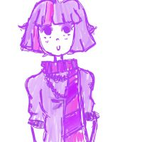Pink and purple not much else by Laugh0utLoud