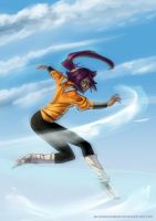 Bleach : Yoruichi by Silverbloodwolf98