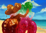 Summer Slimes by fralea