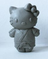 Hello Judo Kitty WIP by suzannewolf