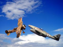 Planes World War II by vv0jt3k