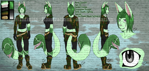 COMMISSION Scarlett Reference Sheet COMMISSION by I3-byUsagi