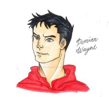 Sorta Grown Up Damian Wayne by AimiisLoveBeautiful