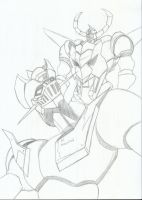 Mazinger Z and Gaiking Obari Style by RyugaSSJ3