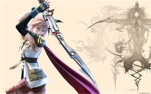 FFXIII Lightning Fighting Fate by ferlyl