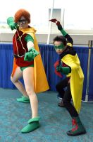 Carrie and Damian by FloresFabrications