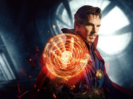 Doctor Strange [1600x1200 JPosters Cover ] by JLondon-64