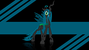 Queen Chrysalis Wallpaper by alanfernandoflores01