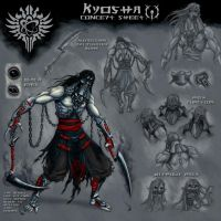 Kyosha concept sheet color by ManiacSoul